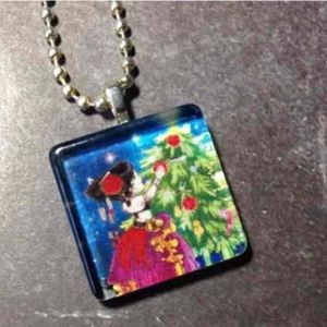 Jewelry - Tribal Belly Dancer Christmas Necklace